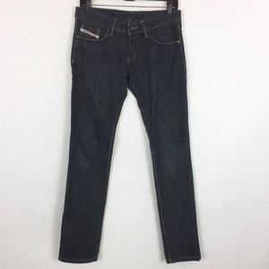 Diesel Jeans 29 Dark Wash Slim Straight Leg